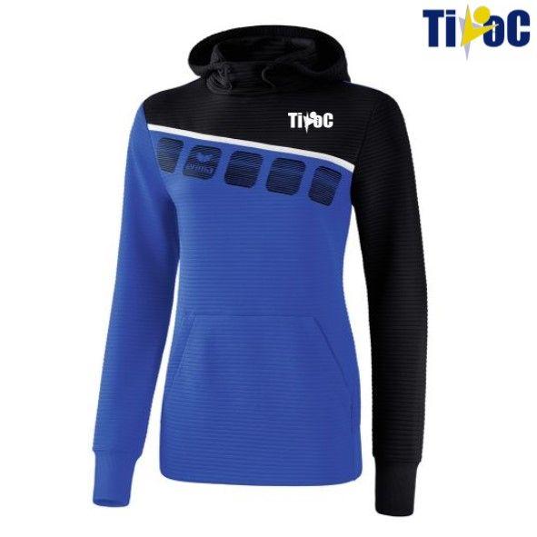 Tivoc - 5-C sweatshirt met capuchon Dames
